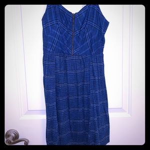 NWT Blue patterned sun dress